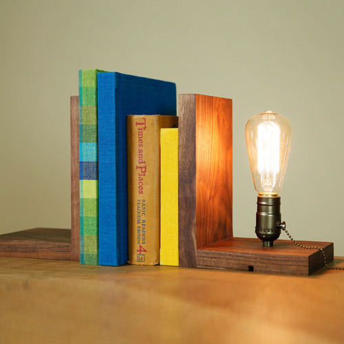 BOOKEND LIGHTING(월넛)