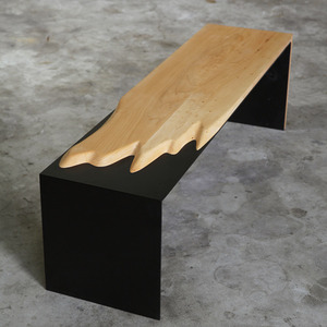 STEEL BENCH (TV BOARD) 메이플